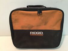 Soft Zippered Storage Case For Ridgid Jigsaw R3121 Or Hammer Drill R7111