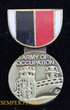 US ARMY OF OCCUPATION SERVICE MEDAL LAPEL HAT PIN US AIR FORCE AIR CORPS VETERAN