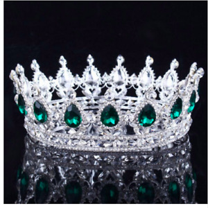 Crown King Queen Medieval Tiara Costume Accessories Wedding Dress Matching Crown