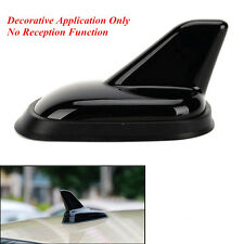 Black 3D Shark Fin Decoration Simulation Antenna Car SUV Off Road Roof Top Decal