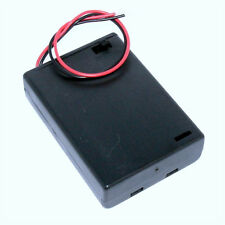 AA Battery Holder Enclosed Box with Switch for 3x AA