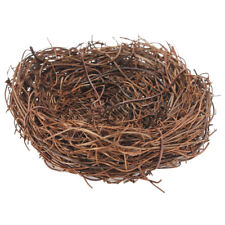 Handmade Vine Twig Bird Nest Home Nature Craft Holiday for Photo Garden R4B2