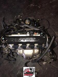 2001-2005 HONDA CIVIC 1.7L SOHC VTEC 16V 4 CYLINDER ENGINE JDM D17A EM2