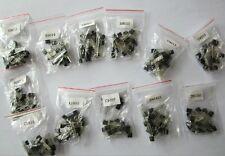 (A1015 - 2N5551) 340pcs 17 value Bipolar Signal Transistor TO-92 NPN PNP Kit Set