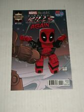 Marvel DEADPOOL KILLS THE MARVEL UNIVERSE AGAIN #1 SDCC 2017 PX Variant NM/M