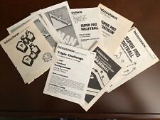 Intellivision Manuals from INTV Corp