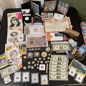 silver  coins junk drawer lot