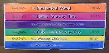 Enid Blyton Faraway Tree Wishing-Chair Collection 6 books Box set VGC Dean 2015