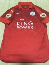 100% Official 16/17 Away Leicester City Okazaki Authentic Jersey Shirt Original