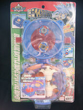 Takara Vintage Battle B-8 Beyblade Battle Dome Spin Fire Bomb Mini Play Set Rare