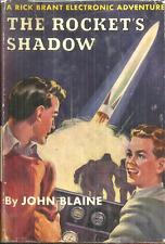 THE ROCKET'S SHADOW - RICK BRANT #1 John Blaine - 1st EDITION 1947 - AUTOGRAPHED
