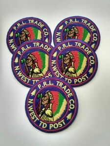 """5 Polo Ralph Lauren """"CHIEF PATCHES"""" Patches"""