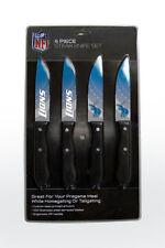 Detroit Lions Steak Knife Set - 4 Pack [NEW] NFL  Chef Kitchen Knives