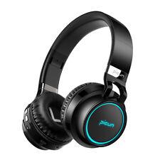 Over Ear Headset Picun P60 Wireless Bluetooth Headphone Stereo Led Glow Earphone