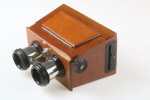 Stereobetrachter / Holz / ICA