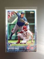 Javier Baez Rookie Card 2015 Topps Series 1 #315 Chicago Cubs RC🔥