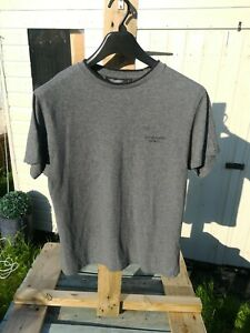 Grey Aston Martin Racing T Shirt Size L In Good USED Condition