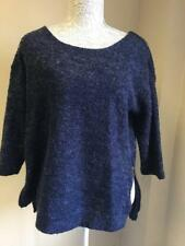 NEXT Womens Navy Blue Jumper With Wool Size 14 (37)