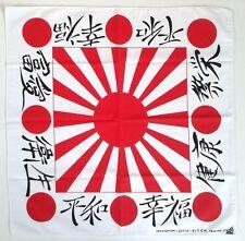 Cotton Bandana Japan Flag Japanese Scarf Rising Sun Kamikaze Headband Decor Gift