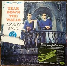VINCE MARTIN & FRED NEIL - TEAR DOWN THE WALLS 64 FOLK DUO SUNDAZED SEALED LP