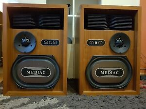 KEF MEDIAC -very rare  vintage speakers - limited edition