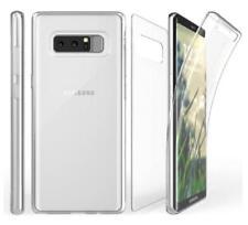 Samsung Galaxy Note 8 Tri Max 360 Sim Clear Cell Phone Case Holder Transparent