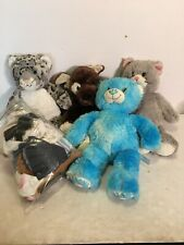 Build A Bear Stuffed Animal Lot With Clothes