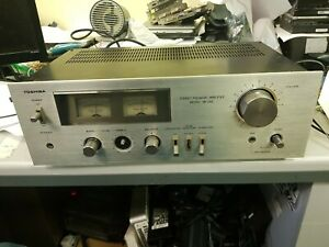 Toshiba Stereo Premain Amplifier SB-230  -- Working  but needs attention.