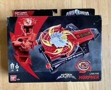 Power Rangers LION FIRE MORPHER Dart Launch New In Sealed Box