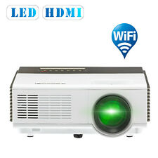 HD LED Mini Android WiFi Projector Portable Home Theater Movie HDMI USB TV 1080p
