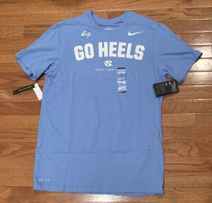 Men's North Carolina UNC Tar Heels Nike Go Heels Performance Shirt NWT Medium