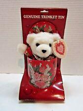 Dandee Genuine Trinket Tin Valentines Bear Gift