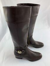 MICHAEL KORS Leather Boots - Brown, Women's UK 6/ EU 39