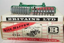 W. Britain's Farm Implements - Disc Harrow - 1.32 Boxed & Display - 9534