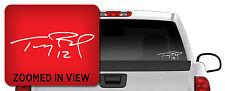 TOM BRADY SIGNATURE Vinyl Decal Sticker Truck Window Car Laptop