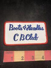 Vintage Amateur Radio Patch BOOTS AND HANDLES CB CLUB 80K7