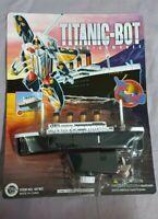 Titanic-Bot transformable Robot - Vintage - Neu & Ovp Moc Nrfb Dragon Toys