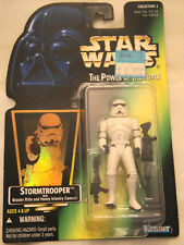 Star Wars Stormtrooper w/ Hologram, Blaster Rifle & Heavy Infantry  Kenner POTF