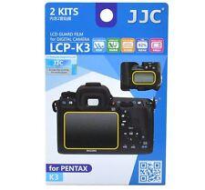 JJC LCP-K3 LCD Screen Protector Guard Film Cover for Pentax K3 DSLR Camera