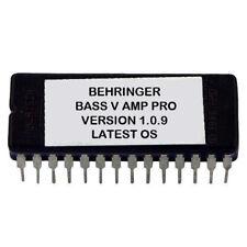 Behringer BASS V-AMP PRO Version 1.0.9 Upgrade Firmware Upgrade Eprom OS VAMP