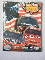 Food City 500 Race Program | 2003 | Dale Earnhardt Jr. | Jeff Gordon | NASCAR