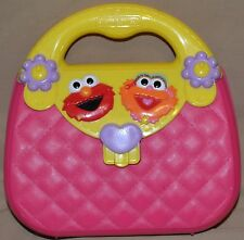 "8.5"" Elmo & Zoe Sesame Street Zoey Carrying Suit Case Bag Toys Purse 1999 Ver."