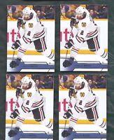 2016-17 Upper Deck UD2 hockey 4 card lot Duncan Keith, Chicago Blackhawks