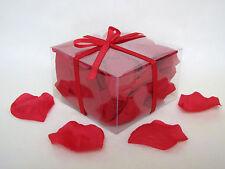 100 PéTALES DE ROSES ROUGE déco table dragées mariage
