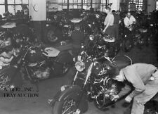 Indian Chief – last Springfield production run 1953  motorcycle photo photograph