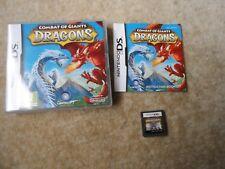 Combat of Giants: Dragons (Nintendo DS, 2009)Complete