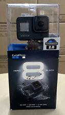 GoPro Hero 8 Black 4k60 Ultra HD Black Action Kamera mit 32gb Karte NEU