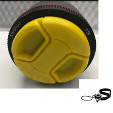 Yellow 58mm Lens cap For Nikon AF-P 70-300mm 55-300mm 35mm 50mm G D5600 D3400