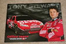 2009 Tony Stewart Office Depot Chevy Impala NASCAR Sprint Cup postcard