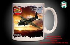 Personalised WELLINGTON BOMBER WW2 RAF  PLANE Mug Cup Dad Custom Gift - Add Name